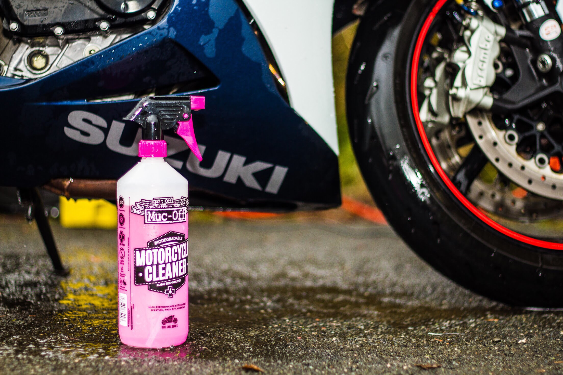 Muc-off Nanotec Motorcycle cleaner review