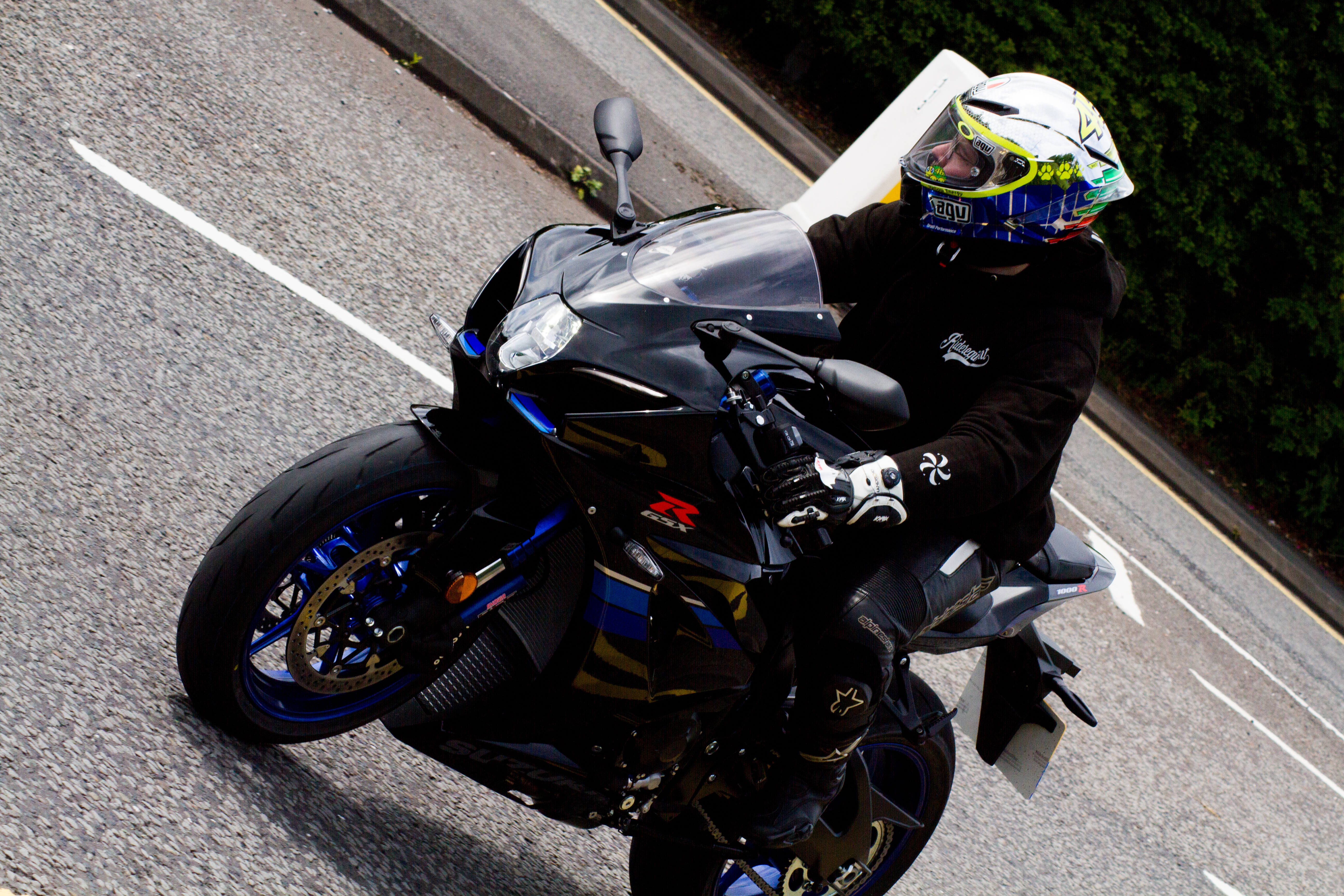 motorcycle glove protection