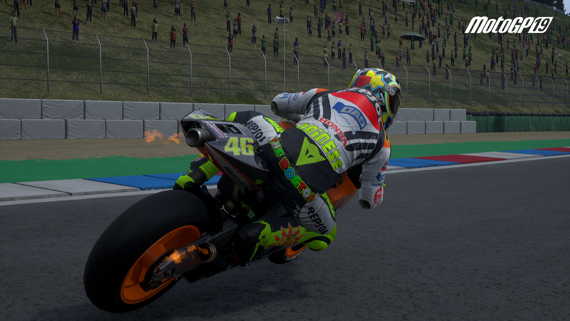 Moto GP 2019 graphics