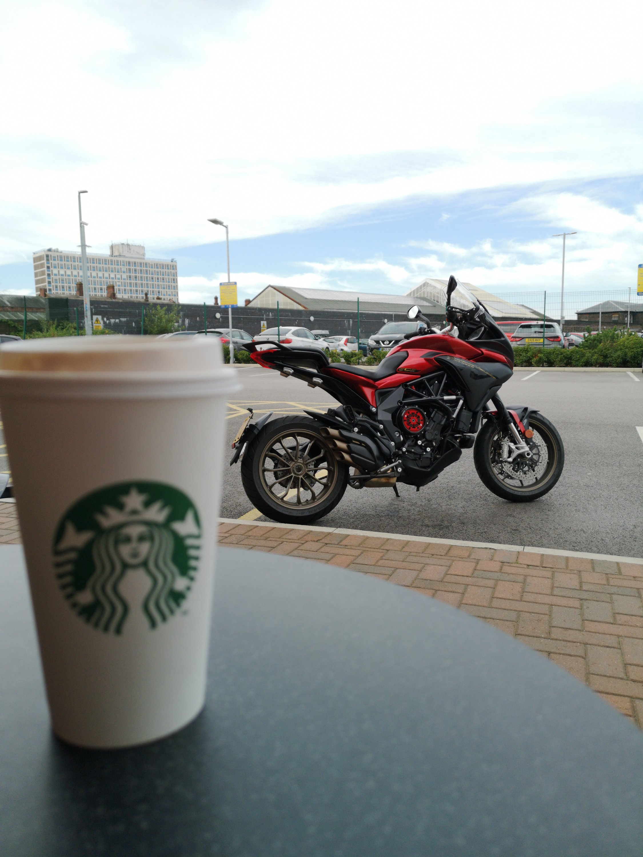 Motorcycle coffee