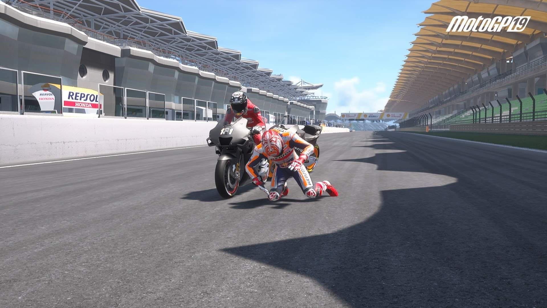 Moto GP 2019 crash