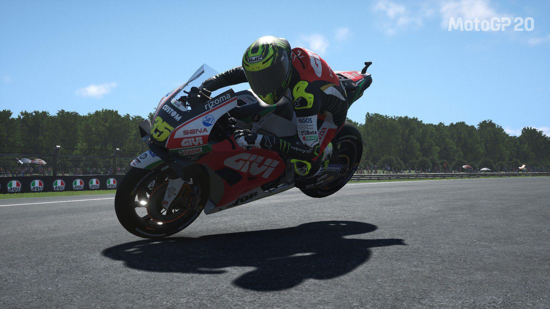 Moto GP20 Stoppie