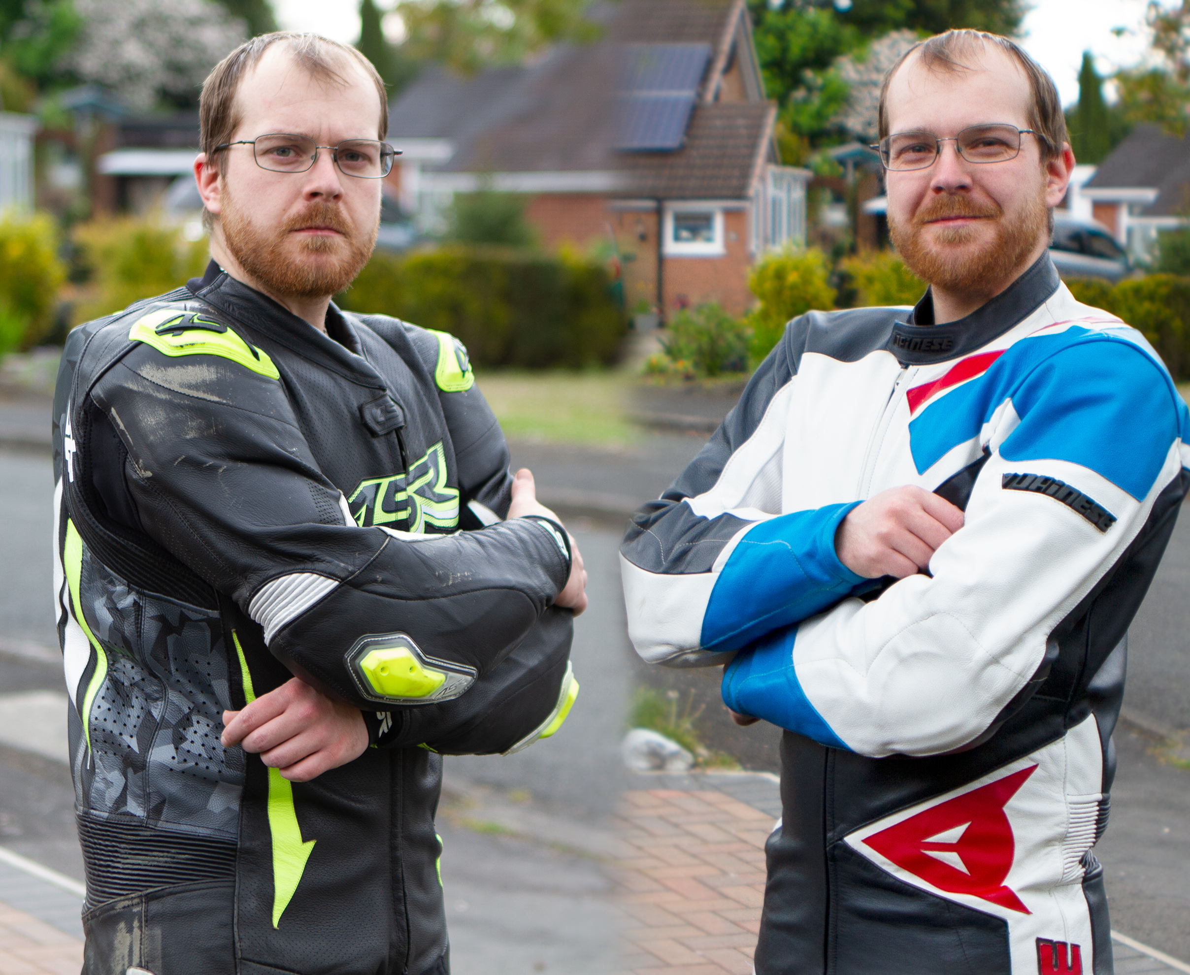 Comparison: 1990 vs 2019 leathers.